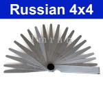 20 Blatt Fühlerlehre für Ventile/ Ventileinstellung Lada 2101-2107  und Lada Niva 2121, von 0,05mm bis 1mm