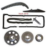 Zahnräder, Steuerkette, Kettenspanner, Spannschiene, Kettendämpfer, Lada Niva 2121 nach 2010