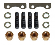 Mounting kit  for Manifold and Y-pipe: Nuts, plates and bolts, Lada 2101-07, Lada Niva 2121
