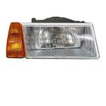 Scheinwerfer komplett Lada  Samara 2108, -09 rechts, orange