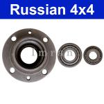 Radnabe für vorderen Rad  bei Lada 2101-2107 mit 2 x Radlager