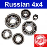 Lager Getriebe/ Reparatursatz Getriebe 4-Gang komplett Lada 2101-07, Niva 2121