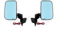 Großer Spiegel beheizbar Niva 2121, 21213, 21214 Paar, Blau getönt