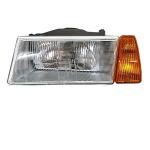 Scheinwerfer komplett Lada Samara 2108, -09 links, orange