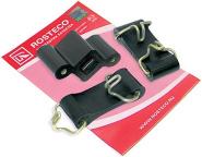 Auspuff Befestigung: 2 x Halteband + Gummihalter für Lada 2101-07, Niva 1600