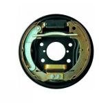 Halter Träger für Bremsbacken, Ankerplatte hinten rechts komplett für Lada Niva 2121, 2105-3502010