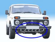 Unterfahrschutz/ Motorschutz/ Gitter Lada Niva alle Modelle. Sehr robust!!  Grau Lackiert
