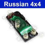 Platine für Rückleuchte/ Rücklicht Lada Niva 1700ccm (21213, 21214, 21215), links komplett, 21213-3716097