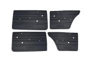 Türverkleidung Set 4 Türen, Lada 2101, 2102, 2103, 2106, schwarz