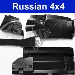 Verkleidung Kofferraum Kunststoff Lada 2103, - 06