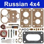 Reparatursatz für Vergaser Lada 2101, 2102, 2104, für Motoren 1200 und 1300
