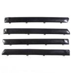 Türverkleidung oben beim Türknopf Set alle 4 Türen für Lada 2101, 2102, 2103, 2106, schwarz