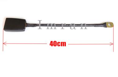 Gurtadapter Gurtschloss Gurtaufname EXTRA LANG Kfz Auto Sicherheitsgurt 40cm