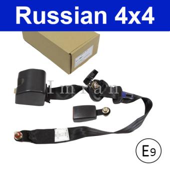 Sicherheitsgurt BUSSE, LKW, Transporter und Tracker vorn automatisch, 3 - Punktgurt komplett, schwarz