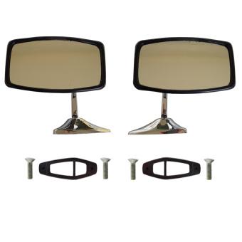 Original Chrome mirror chrome mirror for Lada 2101-2107, FIAT 124 and Lada Niva older models 2121