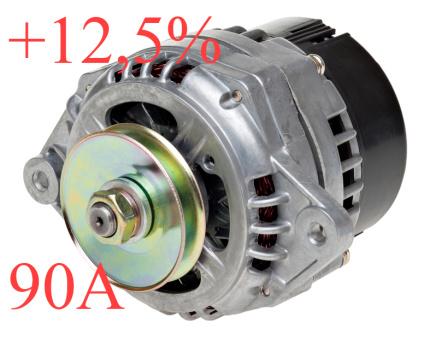 Lichtmaschine verstärkt +12,5 % mehr Lada Niva 1700ccm mit Einspritzer,  14 V, 90 A