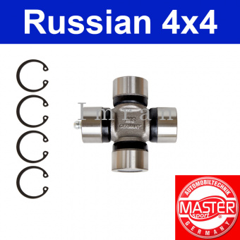 Joint for Lada Niva before 1988 for front and rear driveshaft, Master Sport