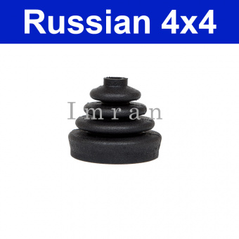 Rubber sleeve for the locking levers transfer case transmission Lada Niva 2121, 21213, 21214