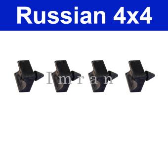 Gummipuffer 4 St. für Bremshebel Bremsbacken hinten, Lada 2101-07, Lada Niva 2121