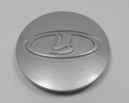 Radnabenkappe, Radkappe, Blende Kunststoff Silbermetalik für Radnabe Lada Niva 21214, URBAN