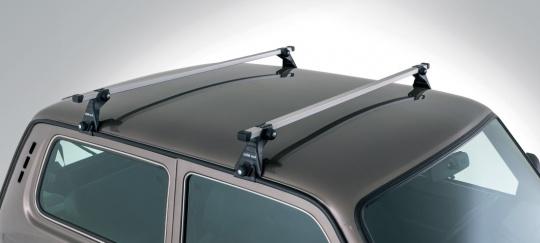 Dachgepäckträger Ultra leicht, 2 Querstreben, Alu Lada Niva 2121, 21213, 21214 und Urban