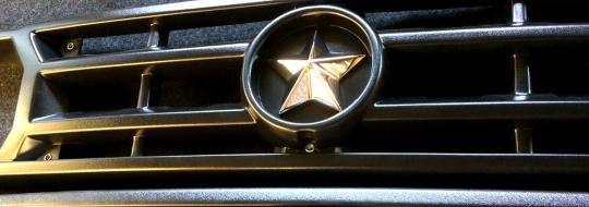 Kühlergrill Lada Niva 2121 und URBAN, schwarz mit Gold, Brand Neues Modell, passt