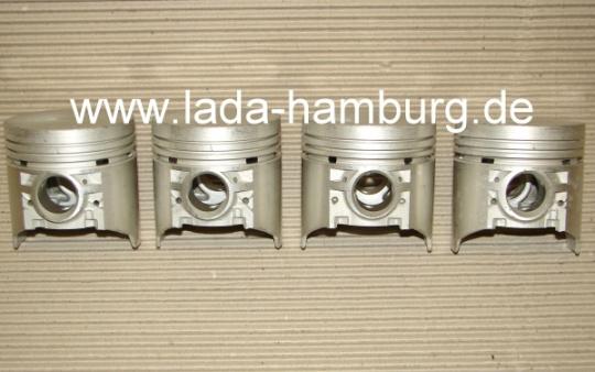 ersatzteile lada niva kolben 4 st ck 76 00 mm f r lada. Black Bedroom Furniture Sets. Home Design Ideas