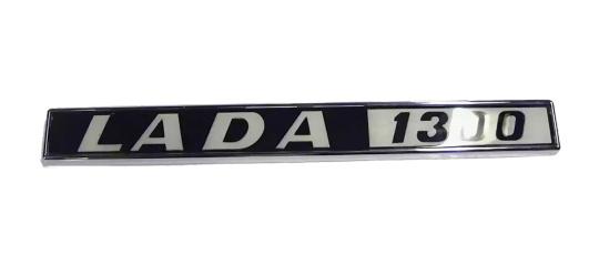 Emblem, Typenschild hinten Lada 1300