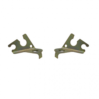 Set x 2 Clamps, bracket, guide for brake hose with ABS Lada Niva 2121, 21214 Urban, 2123-3506076 and 2123-3506075