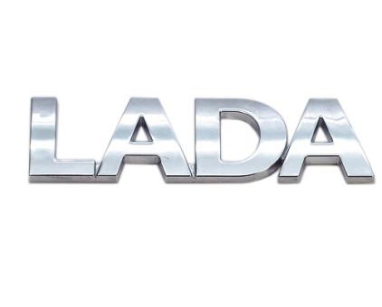 Emblem hinten Chromfarbe Lada Niva 2121, 21214, Urban, 11183-8212211
