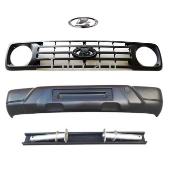 Urban Facelift für jeden Lada Niva 2121. Kühlergrill mit Emblem und Stoßstange