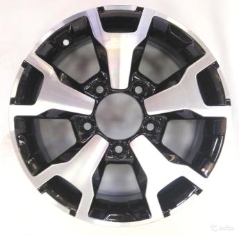 Alufelge Alu Felge 5,5J x 16 Grau lackiert Lada Niva 2121, Urban, für  schlauchlose Reifen
