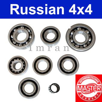 Lagersatz Lager Getriebe 5-Gang komplett Lada 2101-07, Niva 2121, 21213, 21214