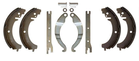 Bremsbacken 4 St. + Bremshebel 4 St. Bremse hinten für Lada 2101-07, Lada Niva