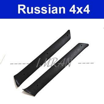 Paneling Trim for A-pillar Lada Niva 2121, 21213, 21214, 21215 black, pair, 2121-5004060 / 61
