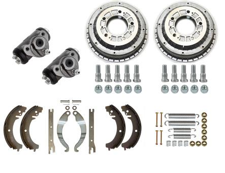 Reparaturkit für Bremse Hinterachse Lada Niva: Bremstrommel, Bremsbacken, Bremszylinder Lada Niva 2121