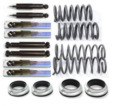 Shocks and Springs kit normal hight for Lada Niva 2121 before year 2010