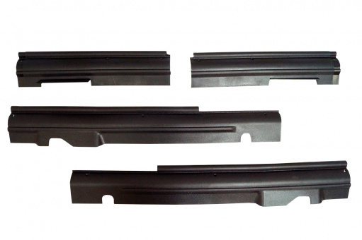 Trims sill inside, rocker panel protection cover for Lada Niva