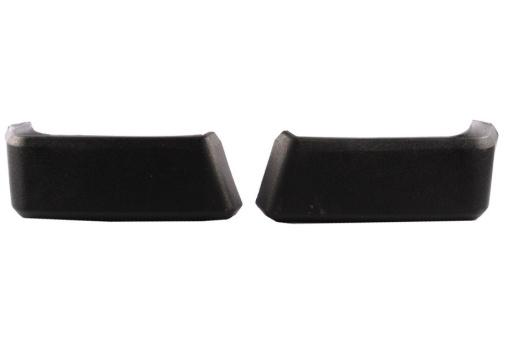 Stoßstangenecken Schwarz Kunststoff Lada Niva, Paar, hinten