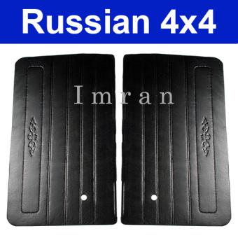 Türverkleidung Set 2 Türen für Niva 2121, 21213, 21214 schwarz