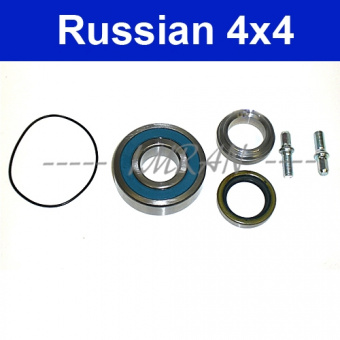 Radlagersatz Radnabe Lada Limousine 2101-2107 Hinterachse Steckachse