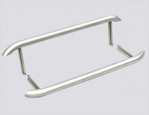 Panneau de repos, pied de lit Lada Niva 2121, 21213, 21214 en métal gris