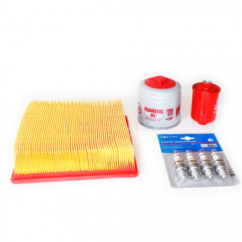Service kit: air filters, fuel filters, oil filters, sparks Lada Niva 21214 (Niva 1700ccm)