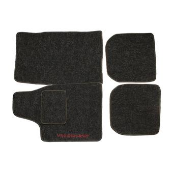 Fußmatten Textilteppich für Innenraum Grau für Lada 2101-2107