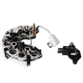 Diode plate + voltage regulator for alternator Lada Niva 1700