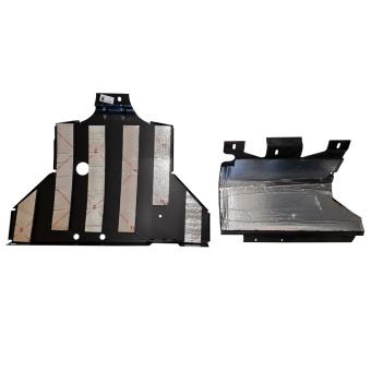 Unterfahrschutz, Motorschutz + Getriebeschutz original Lada Niva 2121, 21213, 21214, 21215