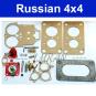 Reparatursatz für Vergaser Lada Niva 1600 und Lada 2103, 2106, 2107
