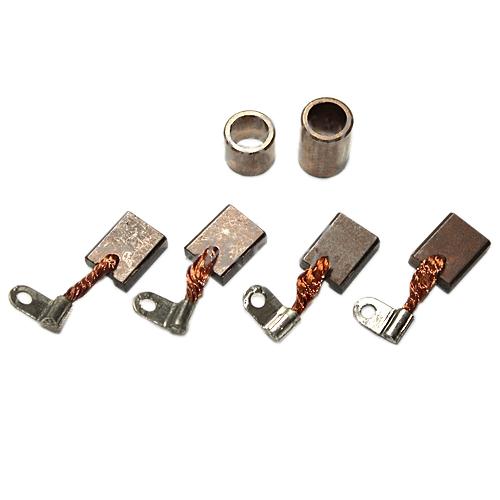 Starter Repair Kit: 4 carbon brushes copper bushings for Lada 2101-07 Lada,  Niva 2121